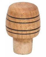 Пробка деревянная.